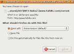 Open Torrent Dialog